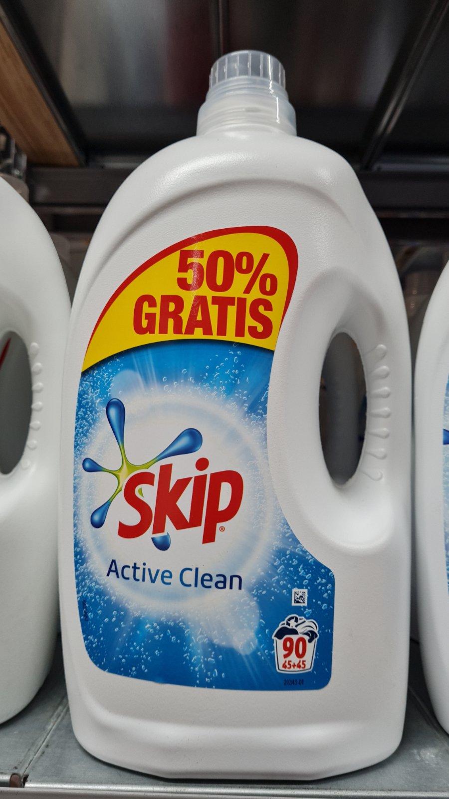 SKIP ГЕЛ ЗА ПРАНЕ ACTIVE CLEAN 4.5l.